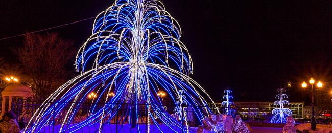 Новогодние огни 2013